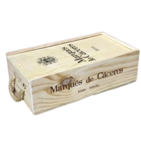 Estuche Marqués De Cáceres Crianza 2 Botellas
